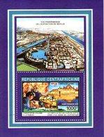 B 2345 - Foglietto, Republique Centrafricaine, EXPO 92 - Repubblica Centroafricana
