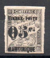 MARTINIQUE - YT N° 19  Neuf * - MH - Cote: 21,00 € - Martinique (1886-1947)