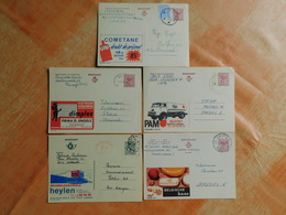 Lot De 5 Entiers Postaux Publibel  (N6) - Entiers Postaux