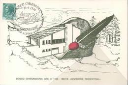 Annullo 24-6-1979 Bosco Chiea Nuova Verona 100° Alpini Veronesi ANA - Manovre