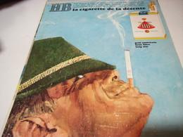 ANCIENNE PUBLICITE CIGARETTE DETENTE  HB 1969 - Raucherutensilien (ausser Tabak)