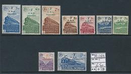 FRANCE CF YVERT 191/199 LH - Mint/Hinged