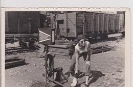 ST227   --  SPLIT  ~  TRAIN  ~  REAL PHOTO, NOT PC  ~  WRITEN 1955 - Croazia