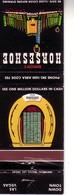 Matchbook Cover ! Binion's Horseshoe Casino, Las Vegas, Nevada, U.S.A.  ! - Matchboxes