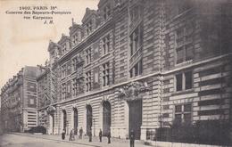 Paris Caserne De Sapeurs-pompier Rue Carpeau - Other
