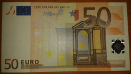 Europe ESTONIA 50 Euro 2002 D-serie UNC, DRAGHI Sign, Printer R051 - EURO