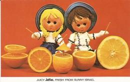 Aerogramme Pik-O-Let  Used  Jaffa Oranges - Israël