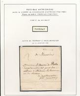 222/28 -Lettre Précurseur TOURNAY 1759 à INGELMUNSTER - Cachet  Herlant 16 - Signé Mareuil - 1714-1794 (Paises Bajos Austriacos)