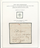 223/28 -Lettre Précurseur TOURNAY 1775 à GAND - Cachet T Herlant 18 - Signé Debbaut - 1714-1794 (Paises Bajos Austriacos)