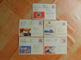 Lot De 5 Entiers Postaux Publibel  (Q6) - Publibels