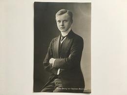 AK Prinz Georg Von Sachsen Meiningen - Familles Royales