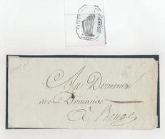 225/28 -Lettre Précurseur BRUGES An 13 En Ville  - Entete Et Cachet Du PREFET Du DEPARTEMENT De La LYS - 1794-1814 (Période Française)
