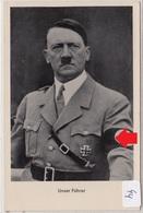 44, Fotopostkarte Portrait Adolf Hitler In Prag 1939 ! - Guerra 1939-45