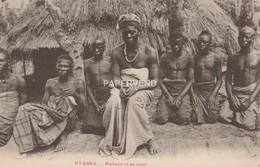 ZAMBIA  NYASSA  Mozambique?  Makaca Et Sa Cour   Zm3 - Zambia