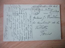 1918 Marseile 2 Eme Obliteration Sur Lettre - Marcophilie (Lettres)