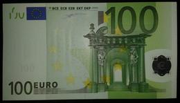 Europe FINLAND 100 Euro 2002, L-serie UNC, Duisenberg Sign, Printer D001 - EURO