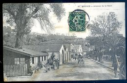 Cpa Algérie Bougie Avenue De La Gare    YN41 - Bejaia (Bougie)