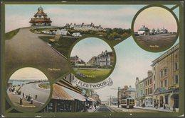 Multiview, Fleetwood, Lancashire, 1913 - Jackson & Son Postcard - England