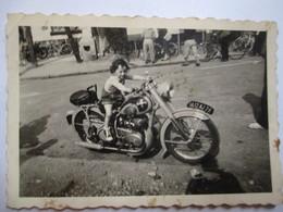MOTO - Photographie Originale  9 X 6 - A Identifier -  BE - Foto's