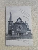 Cpa Canada Quebec Buckingham St-andrews Church 1907 - Québec – Les Portes
