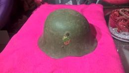 Stahlhelm M36 Bulgarien Wie Wehrmacht WW2, WK2 - Cascos