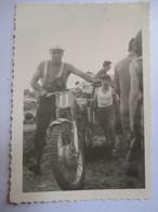 MOTO-CROSS  - Photographie Originale  9 X 6 - A Identifier -  TBE - Foto's