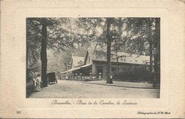Bruxelles. - Bois De La Cambre, La Laiterie.  (scan Verso) - Forêts, Parcs, Jardins
