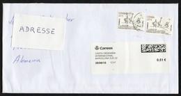 "Spanien 2016 MiNr. 5038 (2)  Brief/ Letter ; Disello: Designwettbewerb ""Cervantes"", Don Quijote - 1931-Heute: 2. Rep. - ... Juan Carlos I"