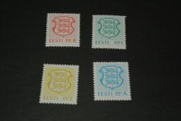 K18315 - Set MNH Estlonia - Eesti 1992 - MI. 176-179-    - Nat. Arms - Estonia