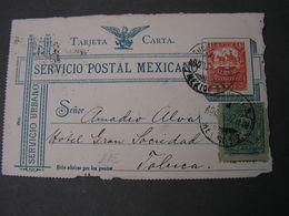 Tarjeta Only Front Part - Mexique