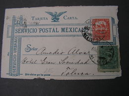 Tarjeta Only Front Part - Mexiko