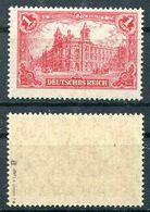 Deutsches Reich Michel-Nr. A113a Postfrisch - Geprüft - Deutschland