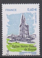 YVERT  4613  ROYAN  NOTRE  DAME   VARIETE DE DECENTRAGE - Unused Stamps