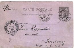 - SEINE - PARIS - Entier Postal Type Sage - 10 Cmes Noir - Càd T.18 - -1889 - France
