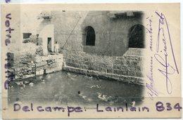 - 3 - Gafsa - La Piscine Romaine, Précurseur, épaisse, Animation, écrite, 1904, Pour St-Pol, TBE, Scans, - Tunesien