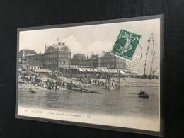 76 Le Havre 1912 Hotel Frascati Semaphore Barque Embaecadere Dos Vert - Andere