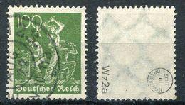 Deutsches Reich Michel-Nr. 187a Gestempelt - Geprüft - Germany