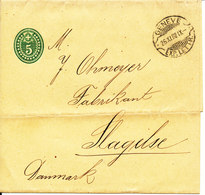 Switzerland Postal Stationery Newspaper Wrapper Sent To Denmark Geneve 26-11-1902 - Entiers Postaux