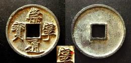 CHINA - CHONG NING TONG BAO - 10 CASH -  FOURTH EYE MIN  - SLENDER GOLD SCRIPT - CHINE - Chine