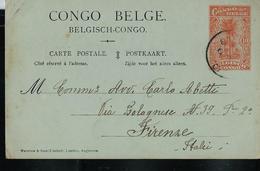 Carte Obl. N° 40  , écrite Le 18/10/1918  Pour Firenze (Italie) - Ganzsachen