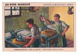 FIGURINA CROMOLITOGRAFIA PUBBLICITARIA  AU BON MARCHE'  Serie MOD1 - Au Bon Marché