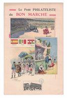 FIGURINA CROMOLITOGRAFIA PUBBLICITARIA  AU BON MARCHE'  Serie CRO1 - Au Bon Marché