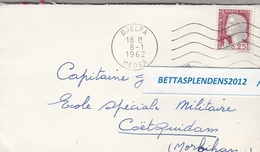 LSC 1962 - ALGERIE - Cachet DJELFA - MEDEA - Algérie (1962-...)