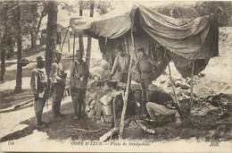 Themes Div-ref Z855 - Guerre 1914-18- Cote D Azur - Poste De Senegalais - Senegal -tirailleurs Senegalais - - War 1914-18