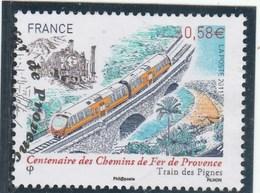 FRANCE 2011 TRAIN DES PIGNES  OBLITERE YT 4564 - - France