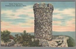 CPA USA - Connecticut - Meriden - Hubbard Park - Castle Craig Tower - Etats-Unis