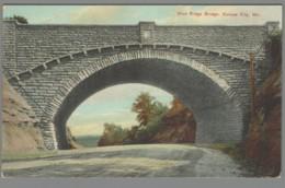 CPA USA - Missouri - Kansas City - Blue Ridge Bridge - Publicité Juliana Tafelzout Amsterdam - Kansas City – Missouri