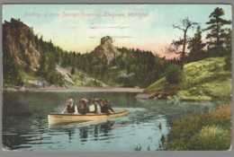 CPA USA - Wyoming - Cheyenne - Boating Granite Springs Reservoir - Cheyenne