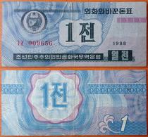 North Korea 1 Chon 1988 - Corée Du Nord