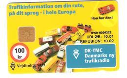 Dänemark - Danmark - Denmark - Danmont Vejdirektoratet DK-TMC Cars - UDLOB 10.01 - Danemark